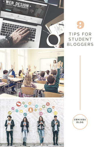 tips for student bloggers
