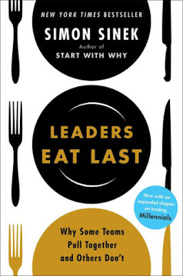 "Featured in the article: ""12 Best Leadership Books You Must Read"". Leaders Eat Last By Simon Sinek"
