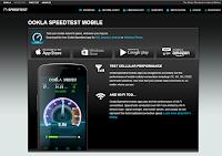 Ookla Speedtest da Smartphone