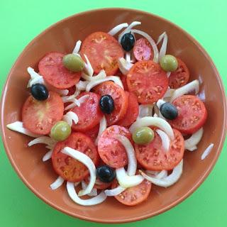 Salada de TOMATE e Cebola
