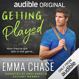 Getting Played by Emma Chase on Audiobook
