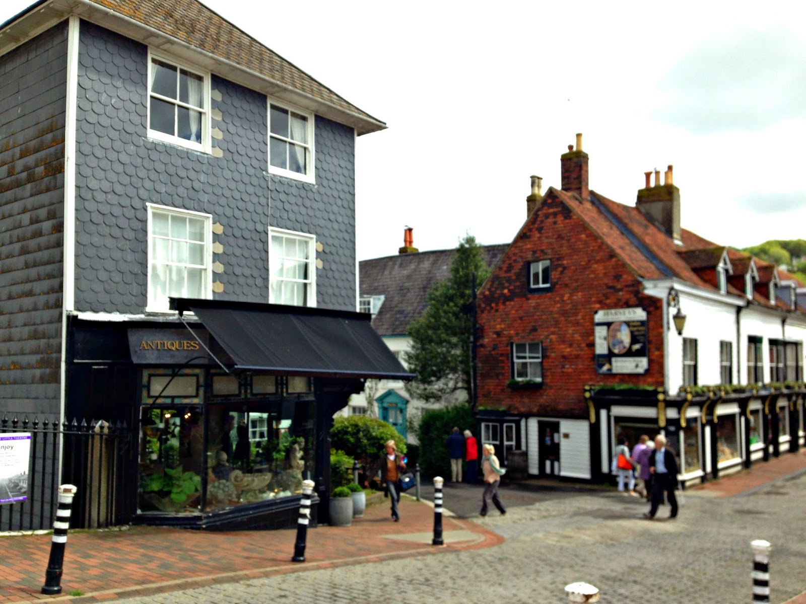 Shops on Lewes High Street