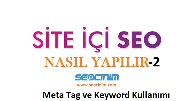 meta tag kullanımı