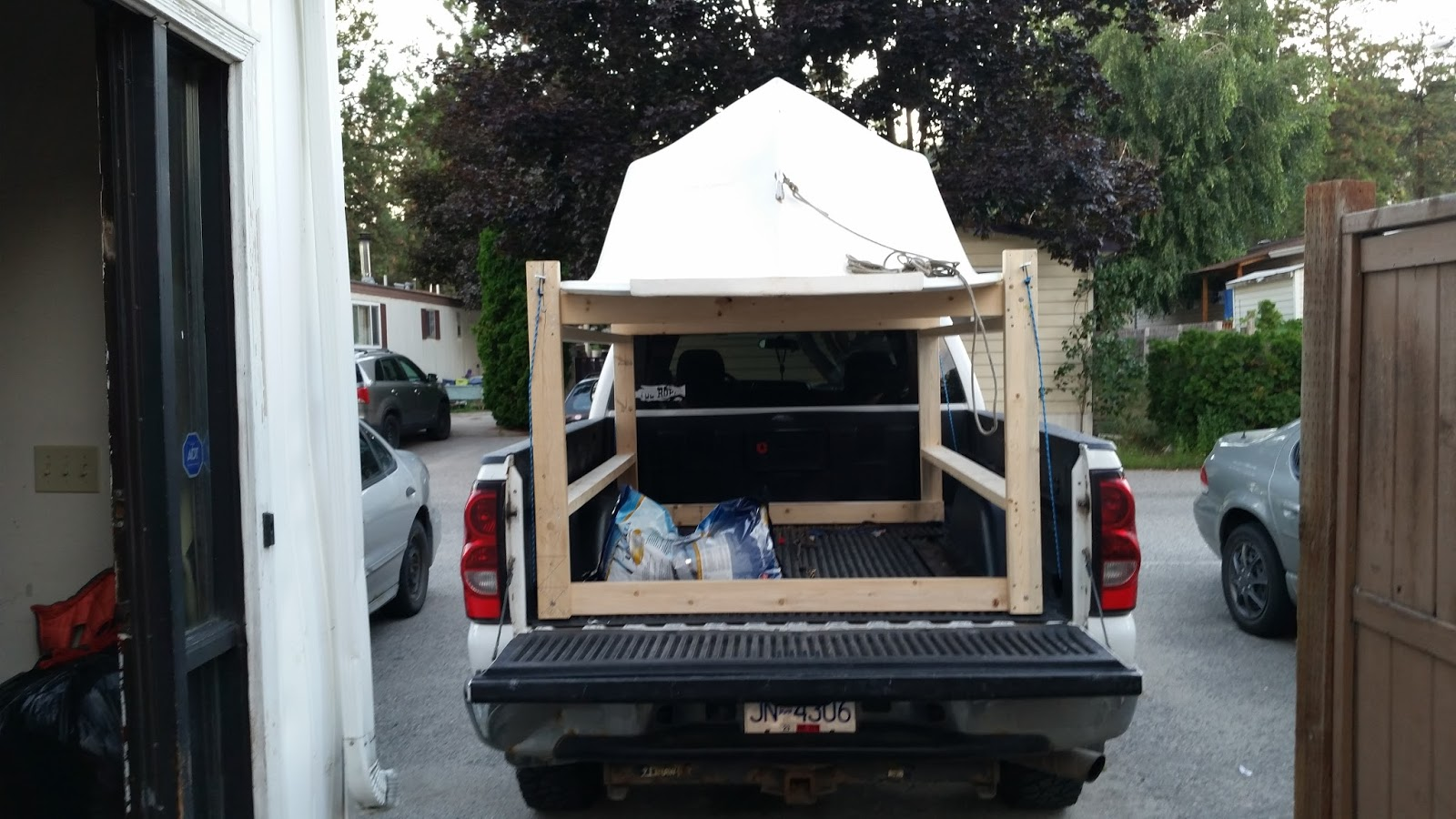 Howdy Ya Dewit!: Easy Homemade Canoe, Kayak, Ladder and ...
