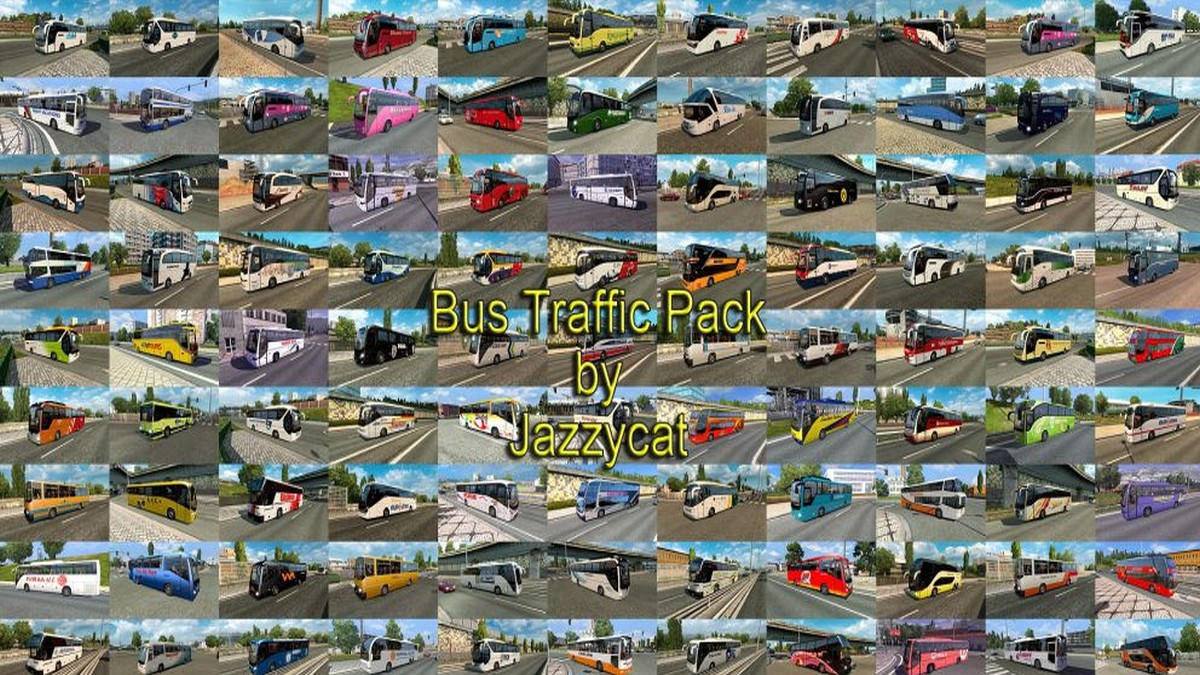 Jazzycat – Bus Traffic Pack 4.6