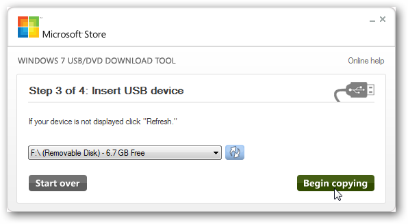 Windows 10 USB/DVD Download Tool ลง Windows ผ่าน USB