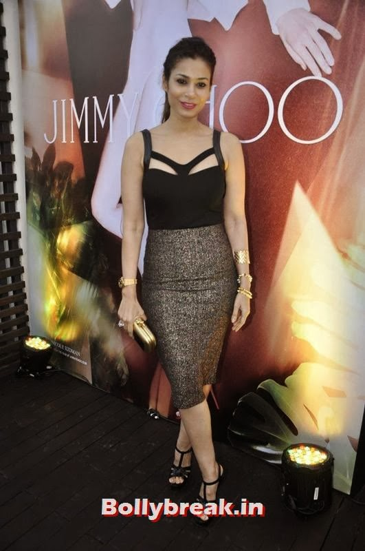 Shaheen Abbas, Evelyn Sharma, Lisa Haydon & Sophie Choudry Spotted at Jimmy Choo's Women's Day Celebrations