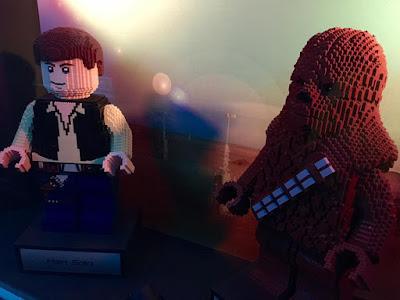 Mini Han Solo & Mini Chewbacca