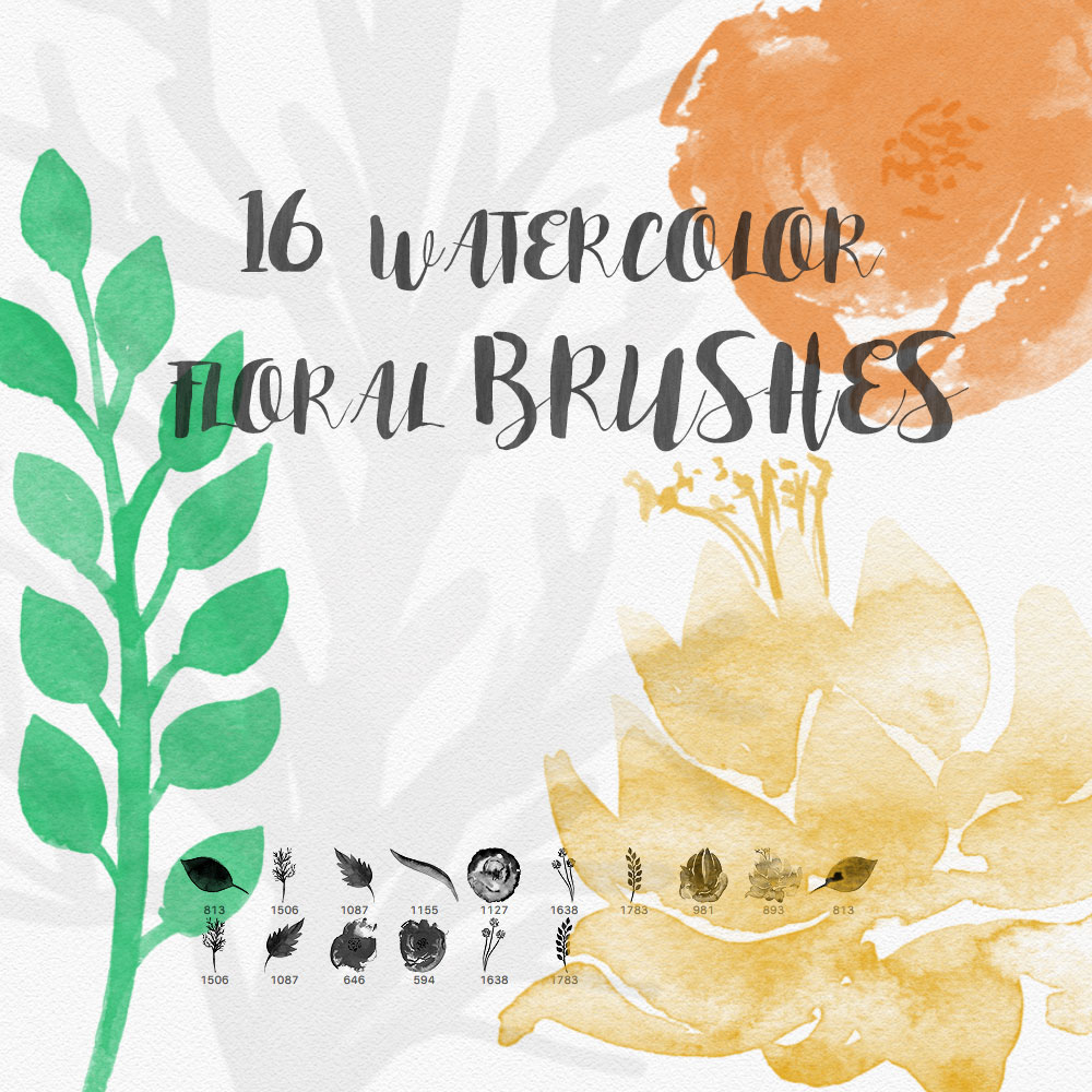 how to create watercolor brush in photoshop