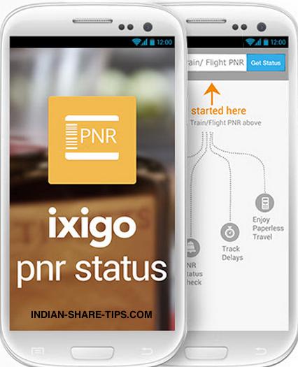 Ixigo PNR App - Track PNRs for Trains & Flights | Indian Stock