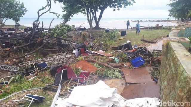BNPB Memaparkan Detik-detik Panggung Seventeen Digulung Tsunami