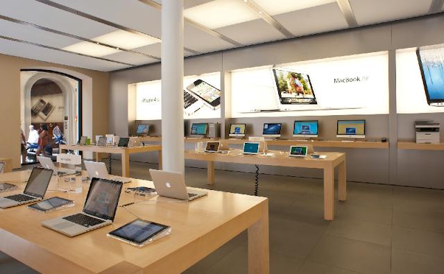 Como são as lojas da Apple em Miami
