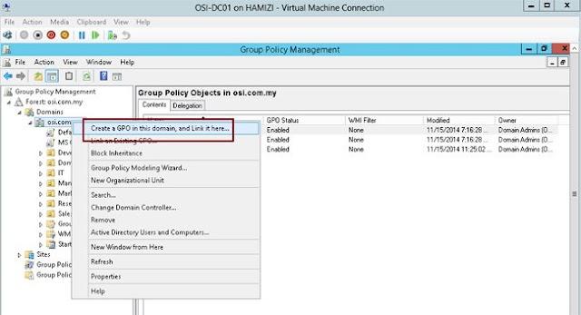Hướng Dẫn Cách Cài Phần Mềm Cho Client Từ Windows Server 2012 R2 Dùng Group Policy