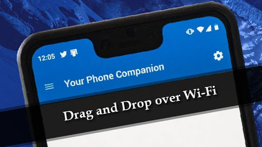 Your Phone app now supports drag and drop files between a Samsung phone and Windows 10 PC