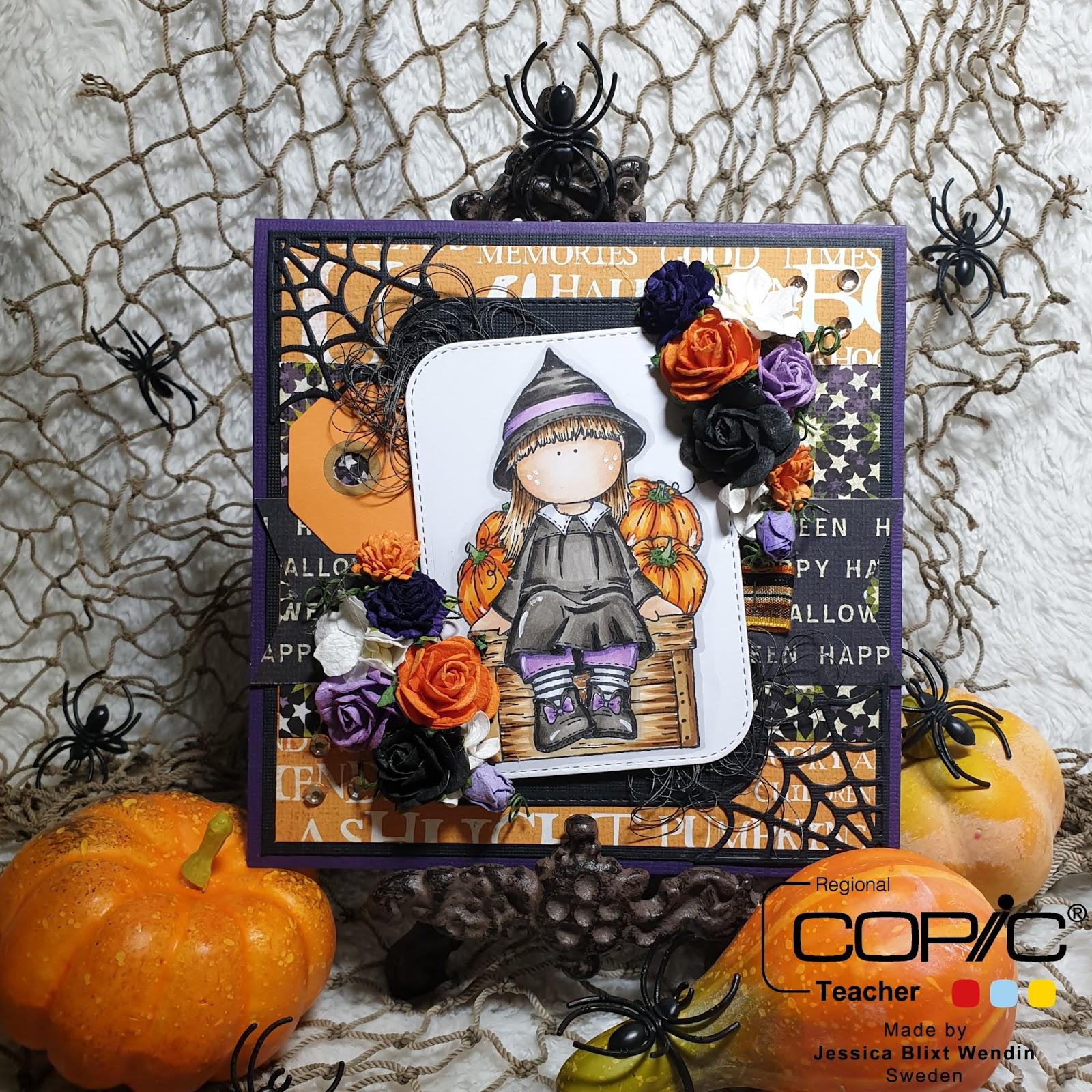 Copic Marker Sverige  Snart är det Halloween 7b23dba2f657a