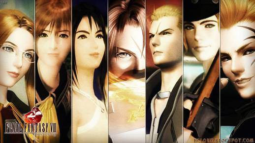 Nostalgia Game Final Fantasy VIII