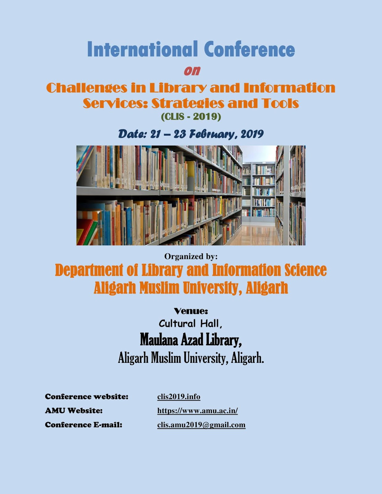 Library Science Professionals Portal: International Conference on