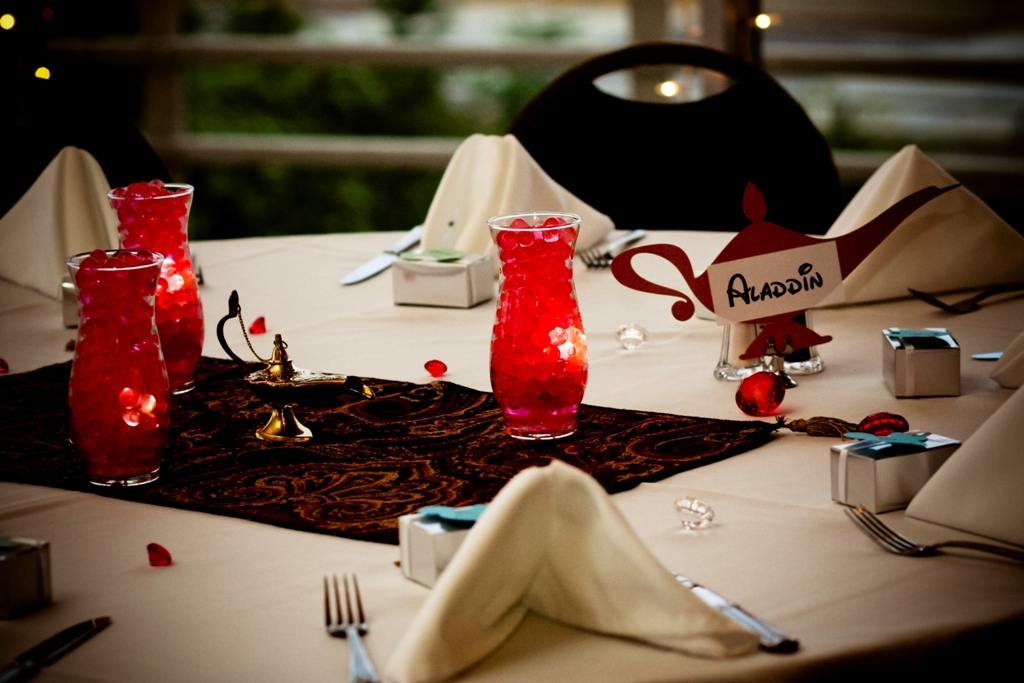 Ultimate Disney Weddings Centerpieces Part Two This