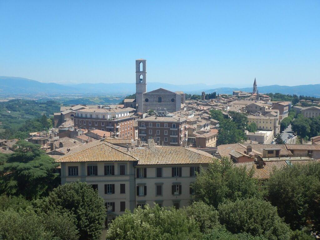 Perugia a capital da Umbria
