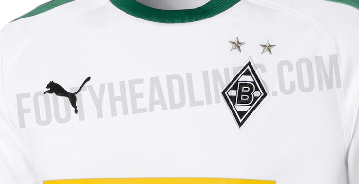 OFFICIAL Pictures  Borussia Mönchengladbach 18-19 Home Kit Leaked ... 1bb10aaad