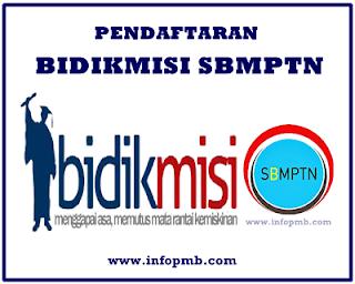 Pendaftaran Bidikmisi Ristek DIKTI Jalur SBMPTN Pendaftaran Bidikmisi SBMPTN 2019/2020