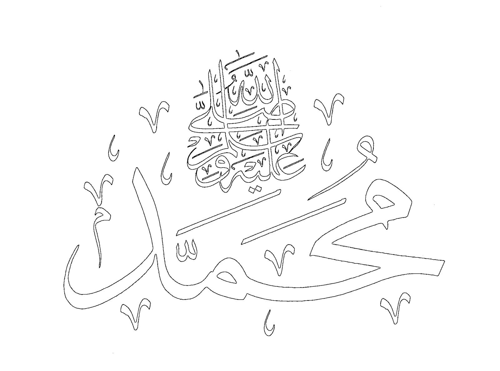 Dindersioyuncom Dini Yazi Boyama Hz Muhammed 6