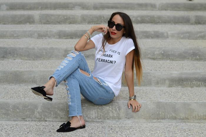 maglietta chiara ferragni
