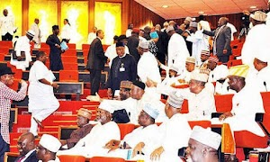 Senators clashes over newly abducted School Girls in the North east.