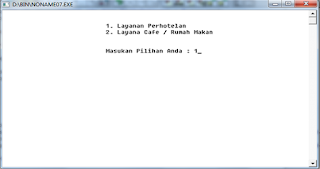 Membuat Program Perhotelan Menggunakan Bahasa Pemrograman C++