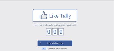 معرفة عدد لايكات الفيس بوك
