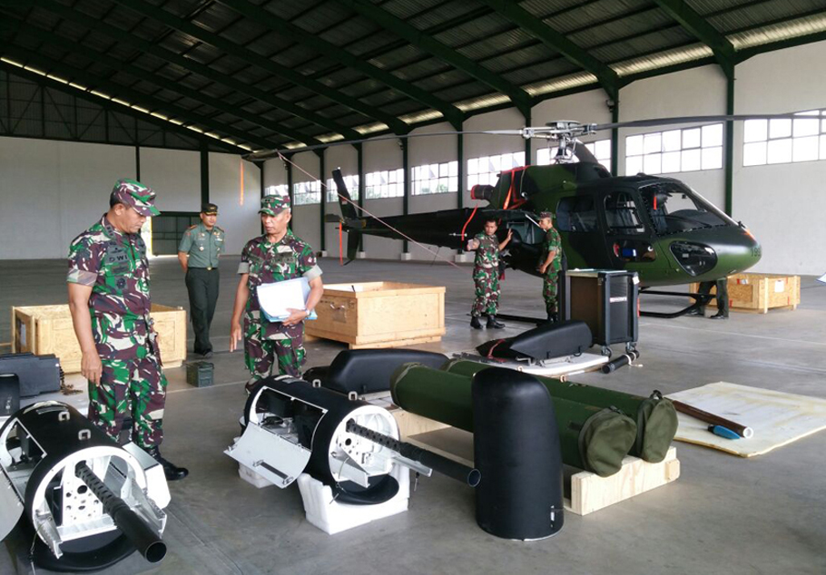Helikopter Serang Fennec AS 550 C3