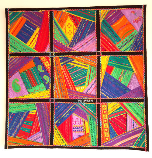 crazy color mystery quilt 2017