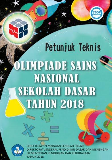 Panduan OSN SD Tahun 2018 PDF