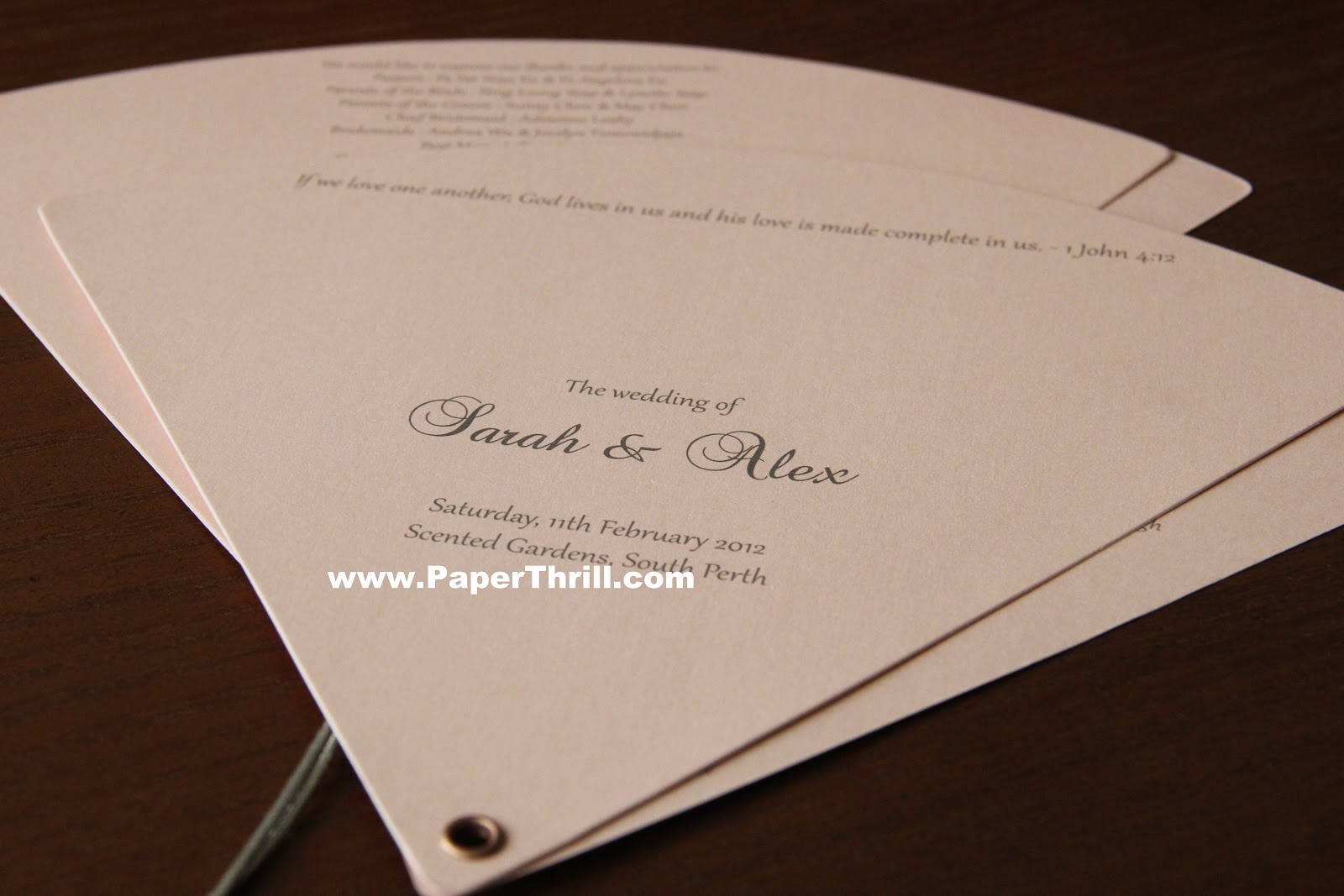 sarah s church program malaysia wedding invitations greeting
