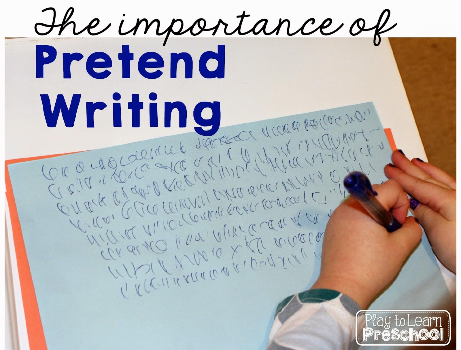 Learn To Write Preschool