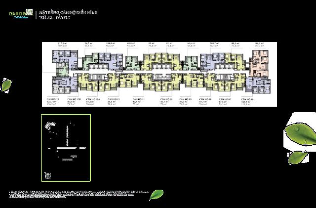 A3 tầng 3 Vinhomes Gardenia