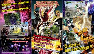 SATRIA HEROES /dari Satria Garuda BIMA-X dan MOVIE