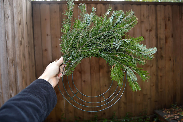 Fresh Bough Wreaths, Christmas Wreaths, DIY Wreaths