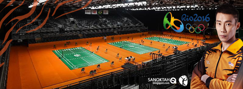 Badminton Sukan Olimpik Rio 2016