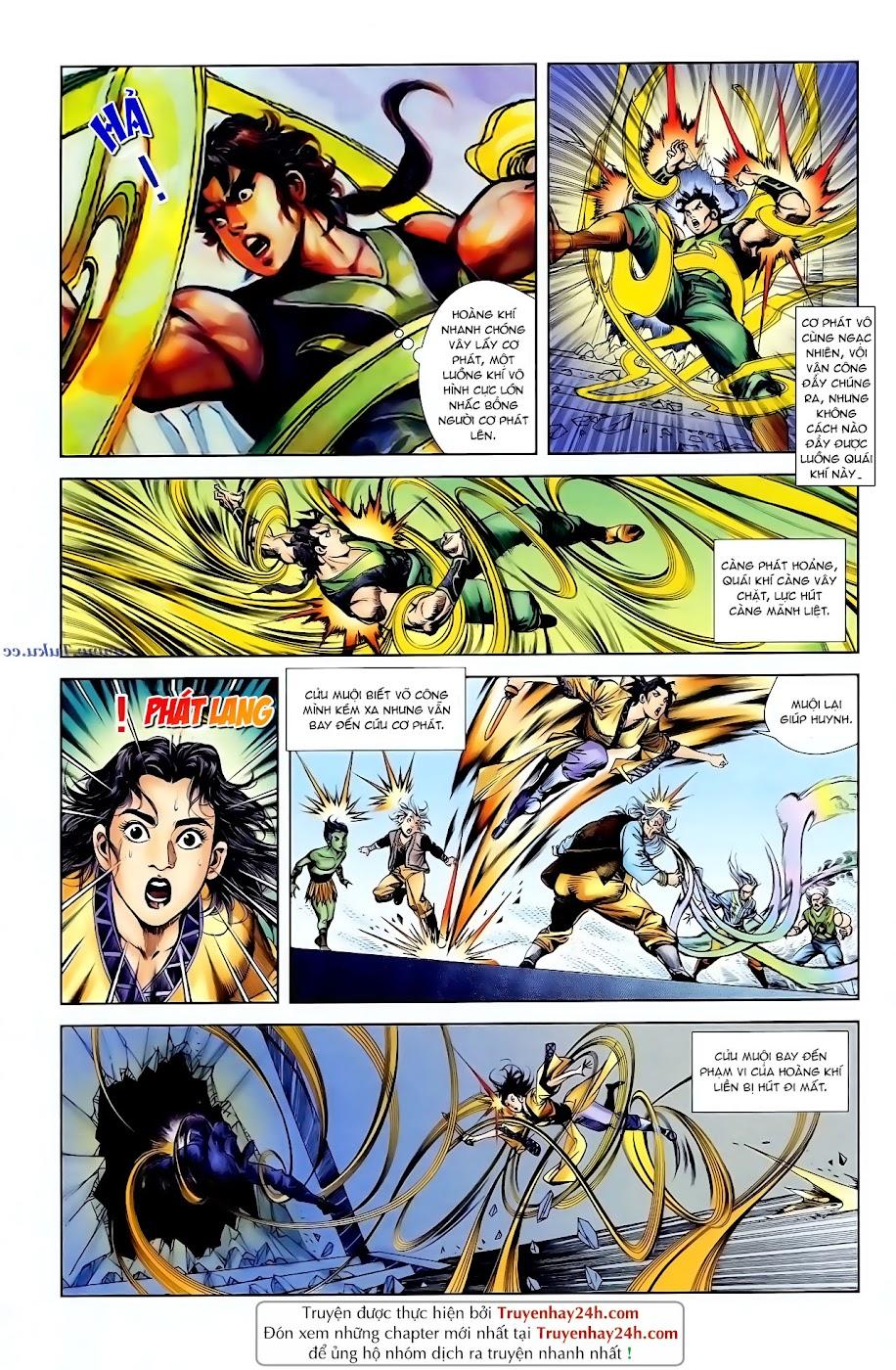 Cơ Phát Khai Chu Bản chapter 96 trang 3