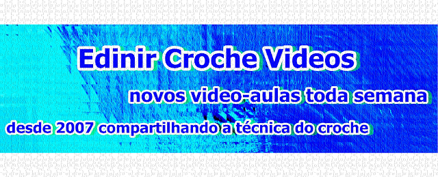 edinir croche videos youtube curso de croche facebook pagina aprender croche dvd