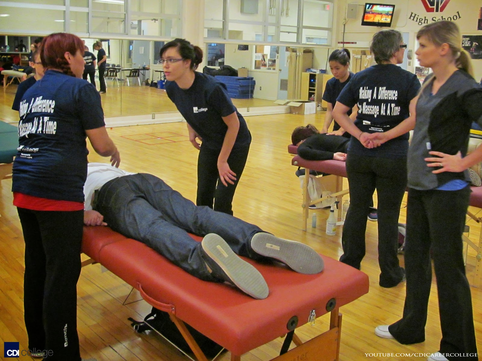 Cdi College Cdi College Massage Therapy Students At-3647