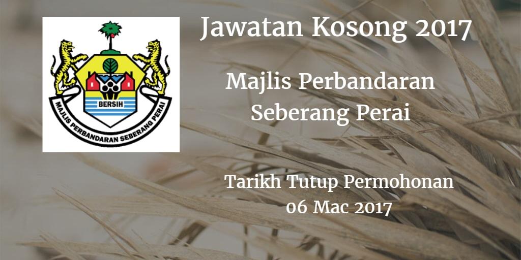 Jawatan Kosong MPSP 06 Mac 2017