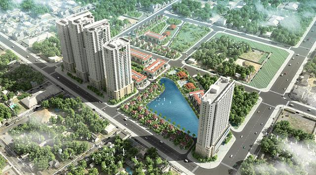 Tổng thể dự án FLC Garden City