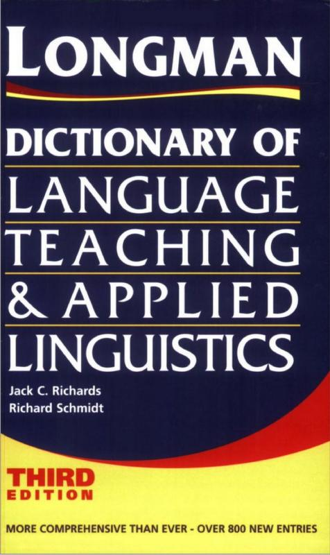 Dictionary Of Language Teaching And Applied Linguistics PDF Book