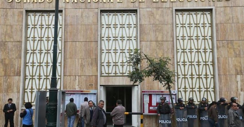 JNE declaró infundada impugnación a cédula del referéndum presentada por el APRA - www.jne.gob.pe