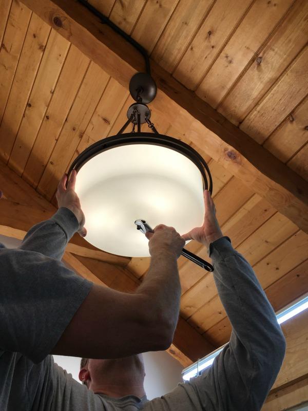 Hood Creek Log Cabin: DIY Modern Rustic Cabin Bathroom Renovation ...