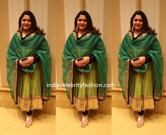 Kushboo Sundar in Anarkali