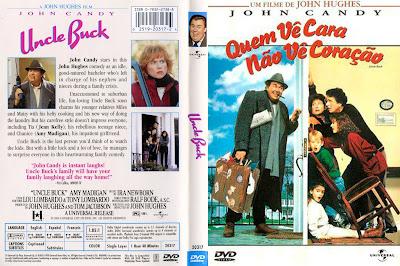 Filme Quem Vê Cara Não Vê Coração (Uncle Buck) DVD Capa