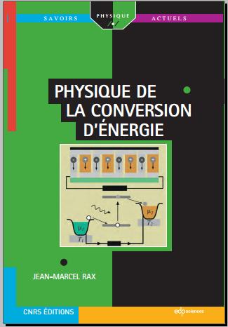 Livre : Physique de la conversion d'énergie - Jean-Marcel Rax